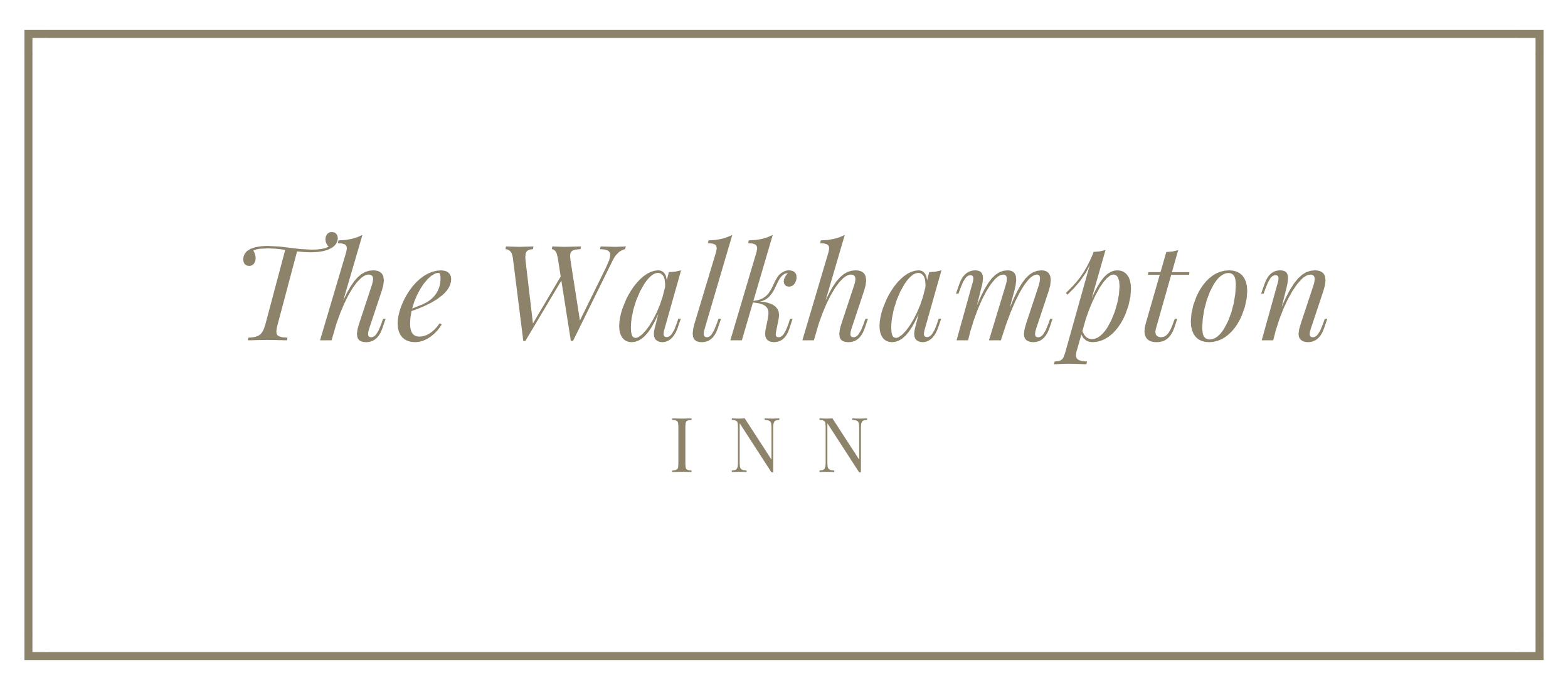 The Walkhampton Inn logo